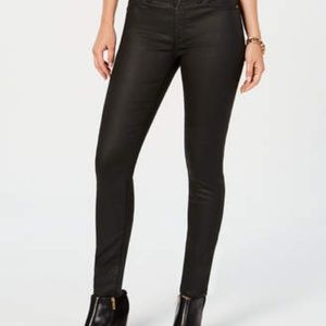 Jessica Simpson Kiss Me Jeggings jeans Waxed denim